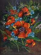 Elisabeta Hermann - Poppies and Wildflowers