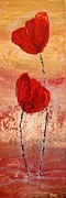 Poppy Paintings - Poppy by Andrea Meyer