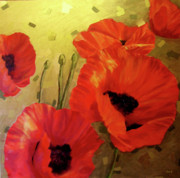 Poppy Power Print by Jennifer  Blenkinsopp