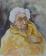Famous Photographers Originals - Portrait of Eudora Welty   by Dan Earle