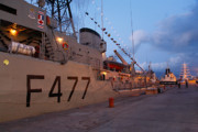 Warships Photos - Portuguese Navy frigates by Gaspar Avila