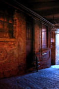 Post Alley Framed Prints - Post Alley East Wall Framed Print by David Patterson