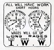 Iww Posters - Poster Promoting The I.w.w. Campaign Poster by Everett