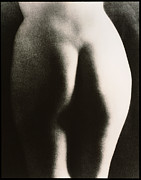 Buttock Prints - Posterior View Of The Buttocks Of A Woman Print by Cristina Pedrazzini