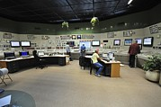 Monitoring Posters - Power Station Control Room Poster by Photostock-israel