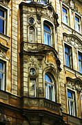 Www Framed Prints - Prague Architecture Framed Print by John Rizzuto
