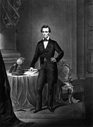 16th President Framed Prints - President Abraham Lincoln Framed Print by War Is Hell Store