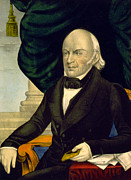 President Adams Prints - President John Quincy Adams Print by International  Images