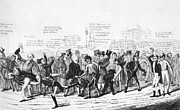 Footrace Photo Prints - Presidential Campaign, 1824 Print by Granger
