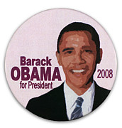 Obama Portrait Prints - Presidential Campaign, 2008 Print by Granger