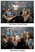 Republican Paintings - Presidents by Andy Thomas