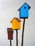 Bird Prints Art - Primary Residence by Robert Roy