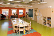 Blackboard Photos - Primary School Classroom by Photographer Jaak Nilson/ Architect Priit Matsi