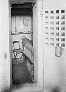 Dismal Framed Prints - Prison Cell In New York States Maximum Framed Print by Everett