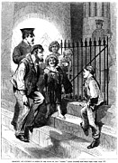 Punishment Prints - Prison: The Tombs, 1868 Print by Granger