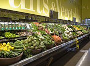 Grocery Store Prints - Produce Aisle Print by Andersen Ross