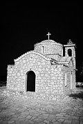 Prophet Photo Posters - Prophet Elias Church Profitis Ayios Elias Hilltop Protaras Republic Of Cyprus Poster by Joe Fox