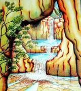 Barbara Stirrup - Prosperity Waterfall 1