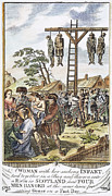 Martyr Prints - Protestant Martyrs, 1563 Print by Granger
