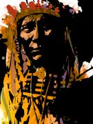 Chief Framed Prints - Proud Chief Framed Print by Paul Sachtleben
