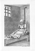 Psychiatric Metal Prints - Psychiatric Patient, 19th Century Metal Print by King