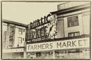 Center City Prints - Public Market Print by David Patterson