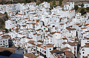 Casares Metal Prints - Pueblo Blanco Metal Print by Rod Jones