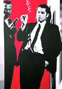 Pulp Fiction Framed Prints - Pulp Fiction Framed Print by Luis Ludzska