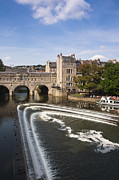 Pulteney Bridge Framed Prints - Pulteney Bridge Framed Print by Andrew  Michael