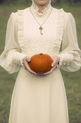 Edwardian Prints - Pumpkin Print by Joana Kruse
