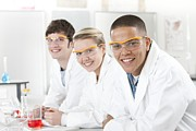 Student Section Photos - Pupils In A Science Lesson by