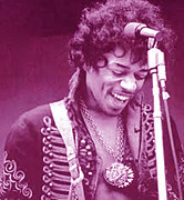 Jimi Hendrix Photos - Purple Haze by Jerry Killian