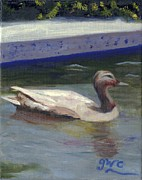 Frederick Painting Originals - Quacker by Gloria Condon