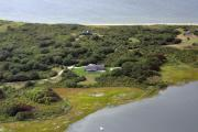 Nantucket Aerials - Quaise Pasture Road Nantucket Island 2 by Duncan Pearson