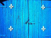 Barn Door Photo Prints - Quebec ... Print by Juergen Weiss