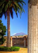 Naples Italy Photos - Quiet Vesuvius by Lois Bryan