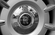 Rolls Royce Digital Art - R R Wheel by Rob Hans