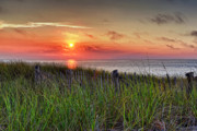 Cape Cod Prints - Race Point Sunset Print by Bill  Wakeley