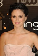 Updo Framed Prints - Rachel Bilson At Arrivals For Bing Framed Print by Everett