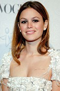 Stud Earrings Posters - Rachel Bilson At Arrivals For The Art Poster by Everett