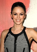 Stud Earrings Posters - Rachel Bilson At Arrivals For Waiting Poster by Everett
