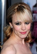Diamond Earrings Posters - Rachel Mcadams At Arrivals For Sherlock Poster by Everett