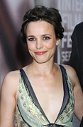 Updo Photo Posters - Rachel Mcadams At Arrivals For The Poster by Everett
