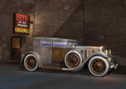 Custom Automobile Digital Art - Rat Caddy by Stuart Swartz