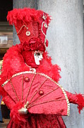 Carnival Photos - Ravishing in Red by Pam Blackstone