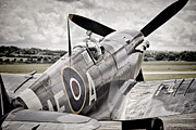 Spitfire Photos - Reach for the sky by Ian Merton
