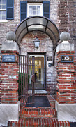 Entrance Door Photo Metal Prints - Rear View Metal Print by Steven Ainsworth