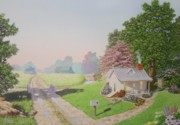 C Robert Follett - Rebeccas Cottage