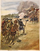 Rebellion Prints - Rebels: Arsenal, 1787 Print by Granger