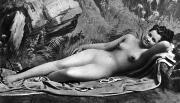 1885 Photos - RECLINING NUDE, c1885 by Granger